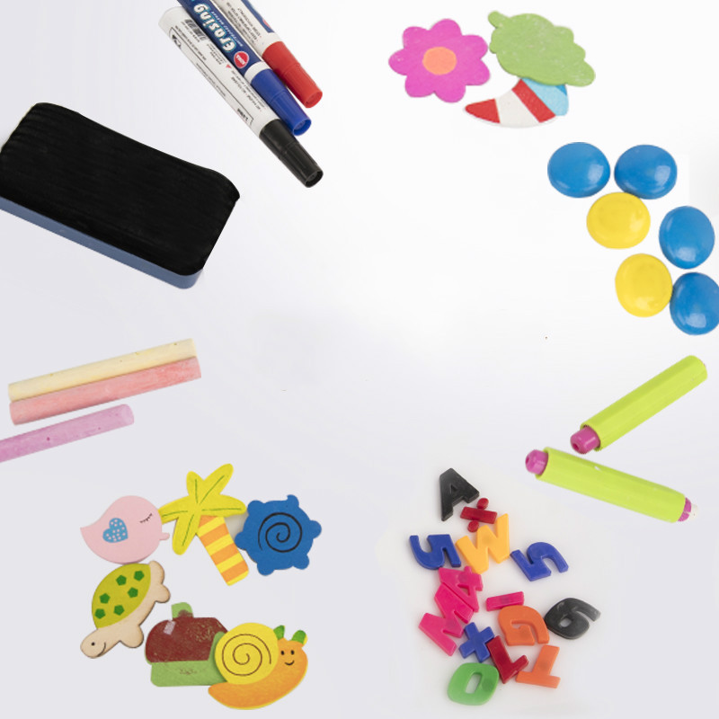 Hot Sales CHILDREN'S Drawing Board Blackboard Easer Letters Posted Apron Preschool Education For Commodity The Department Store