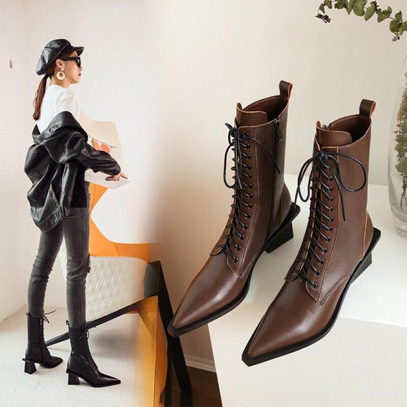 Zorssar bottes d'équitation pour femmes avec couche supérieure en cuir + bottes de chevalier à sangle croisée avec semelles résistantes à l'usure et antidérapantes