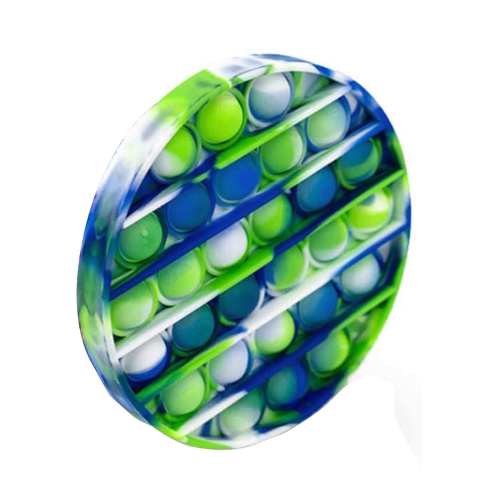 Popit Fidget Bubble-Stress Autism Dye-Color It-Rainbow/Tie Kids Reliever Adult Toy img5