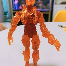 Fantastic Four Human Torch Silver Surfer Figure