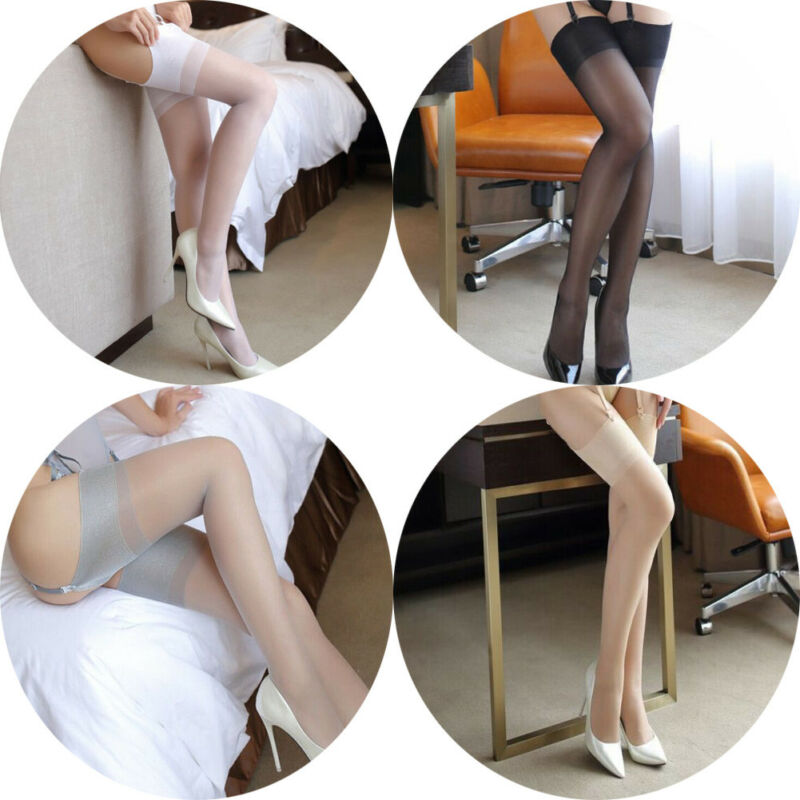 High Quality Soft Breathable Hot Sexy Womens Lace Top Stay Up Thigh High Stockings Nightclubs Pantyhose New