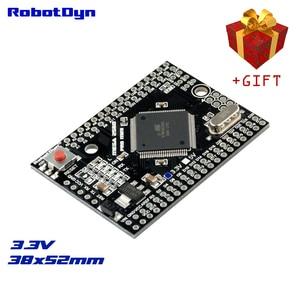 Mega 2560 pro mini 3.3 v, ATmega2560-16AU, sem pinheaders. Compatível para arduino mega 2560.