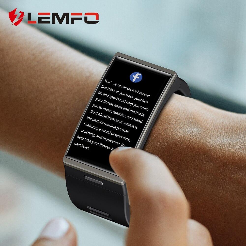 Smartwatch 2020 1 9 Inch 170 320 Screen LEMFO DM12 Smart Watch Men IP68 Waterproof Sport Innrech Market.com