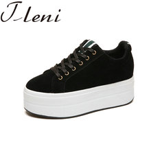 Tleni Ladies Sports Shoes 2018 Spring Fashion Lace-Up Women'