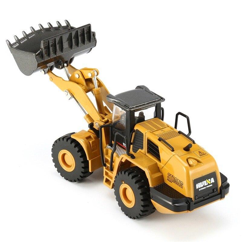 1:50 High Simulation Alloy Diecast Engineering Toys Vehicle Model Excavator Forklift Bulldozer Loader Shovel Toys Metal Vehicles