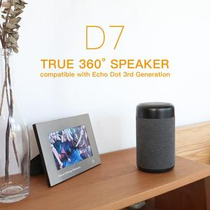 Image 3 - Ggmm D7 Krachtige Draagbare Speaker Batterij Case Voor Amazon Alexa Echo Dot (3rd Gen) 5200Mah Batterij Voor Echo Dot 3 7Hrs Spelen