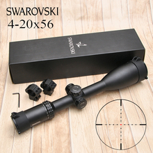 Swarovskl 4-20X56 Tactics Riflescope Hunting White Letter Marking Rifle Scopes O