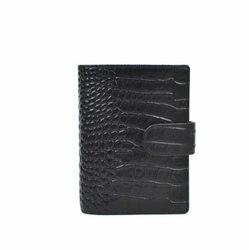 Yiwi Presell Echtem Leder Ringe Notebook A7 Binder Blau Agenda Organizer Rindsleder Tagebuch Journal Sketch Planer Tasche