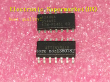 Free Shipping 50pcs/lots ATTINY841-SSU ATTINY841 SOP-14 IC in stock! цена и фото