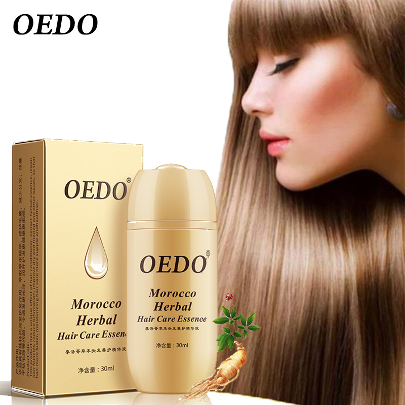 Morocco Herbal Ginseng Hair Care Essence Treatment For Men And Women Hair Loss Fast Powerful Hair Growth Serum Repair Hair Root