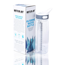 Portable Filtering Water Bottle 700ML Outdoor Sport Climbing