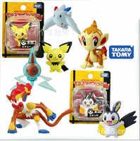 Echtes TOMY Pet Elf Pokemon Spielzeug POKEMON Pokemon Pikachu Puppe Dekoration Weihnachten Geschenk