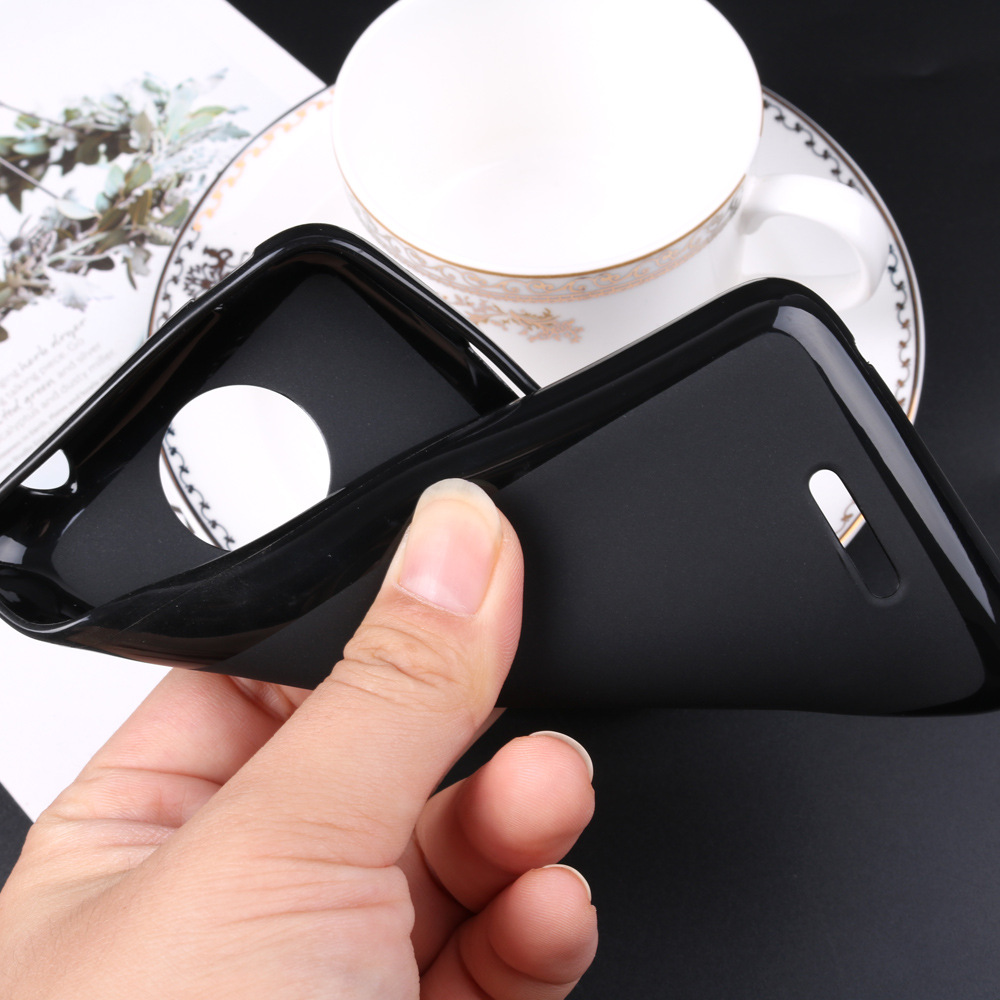 Silicone Black Back Cover for Homtom HT70 S8 S99 HT17 HT27 HT30 HT37 HT26 HT50 Pro S12 Slim Soft Phone Protector Case(China)