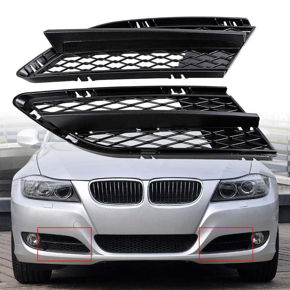 FRONT BUMPR CORNER GRILLE RH DRIVERS SIDE NO FOG NEW AUDI A3 2003 to 2008
