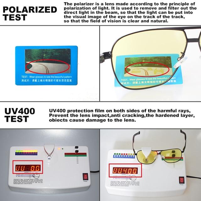 Day Night Intelligent Photochromic Polarized Driving Sunglasses for Men Women Safety Driving UV400 Sun Glasses 4