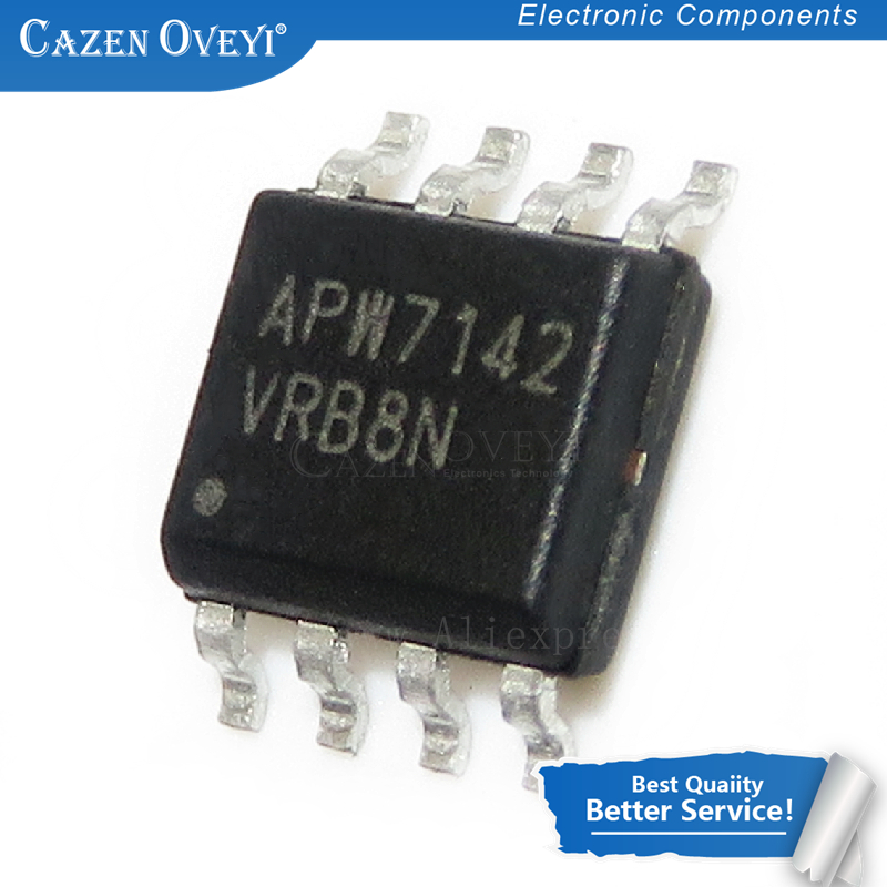 10 шт./лот APW7142 SOP-8 3A 12В синхронный выпрямленный понижающий преобразователь оригинальный подлинный в наличии