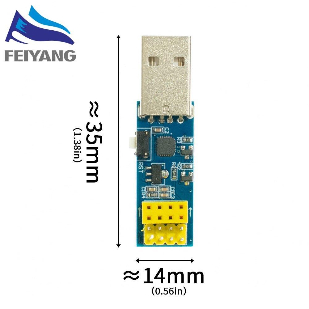 ESP8266 CP2104 ESP-01 WIFI módulo downloader USB para chips de série ESP ELO v1.0