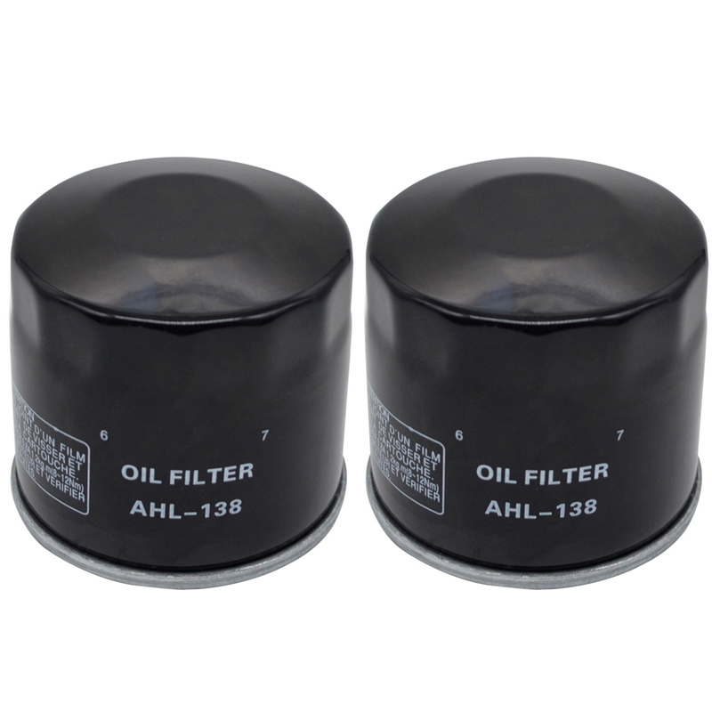 2pcs Oil Filter For SUZUKI GSF650 <font><b>GSF</b></font> <font><b>650</b></font> BANDIT <font><b>650</b></font> 2005-2012 GSR600 GSR 600 2006-2010 GSR750 GSR 750 2011-2014 image