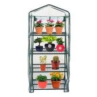 Multi-Tier Household Garden Tools Plant Greenhouse Plate Cover Garden PVC Heating House Warm Garden Solar