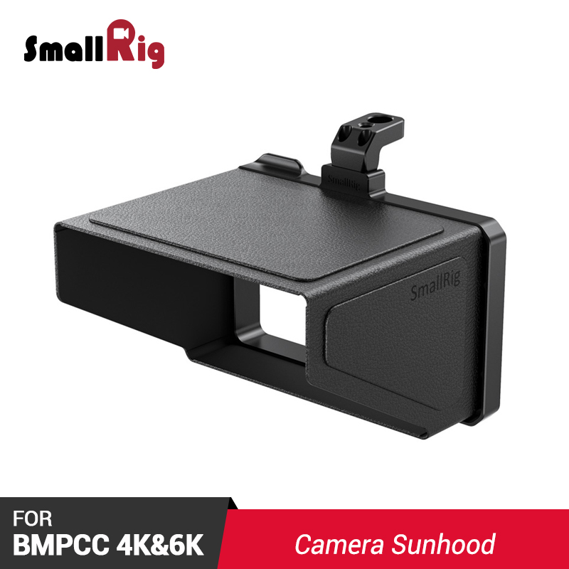 SmallRig BMPCC 4K Camera Sunhood Sun Hood for BMPCC 4K & 6K Camera Sunshade 2299