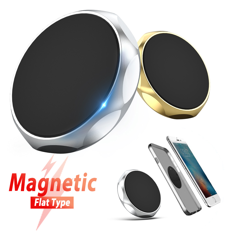 Metal Magnetic Cell Mobile Phone Car Holder Wall Mount Support Magnet Tablet Auto Dashboard GPS Stand For IPhone Xiaomi Huawei