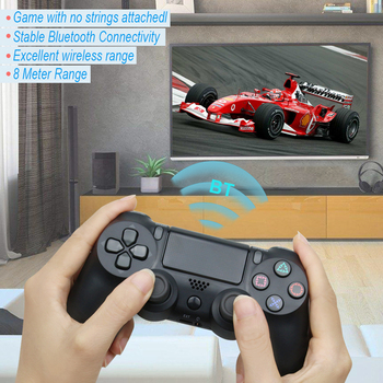 Bluetooth Wireless/Wired Joystick for PS4 Controller Fit For mando ps4 Console For Playstation Dualshock 4 Gamepad For PS3 Consumer Electronics Video Games Joysticks