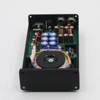 Terminado 50VA HIFI ruido Ultra-bajo de fuente de alimentación lineal DC5V-24V Router NAS MAC Adaptador de Audio
