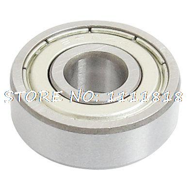 8 X 24 X 8mm Metal Shielded Deep Groove Miniature Ball Bearings 628