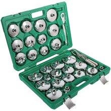ChuangQ 31 sztuk automatyczny filtr oleju klucz gniazdo puchar typu Cap narzędzia do usuwania zestaw dla BMW, Volvo, Honda, Audi, Ford, Toyota, Nissan itp