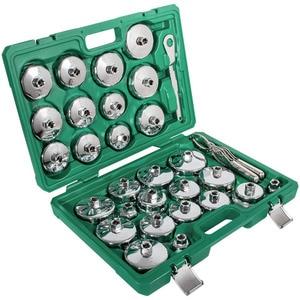Image 1 - ChuangQ 31 sztuk automatyczny filtr oleju klucz gniazdo puchar typu Cap narzędzia do usuwania zestaw dla BMW, Volvo, Honda, Audi, Ford, Toyota, Nissan itp