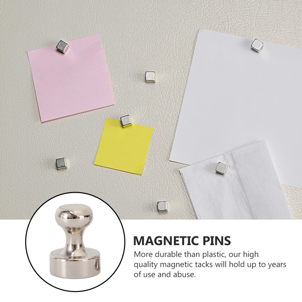 28pcs Steel Magnetic Push Strong Magnets for Fridge Bathroom Kitchen Locker Classroom Industrial Office Hanger (D11x13 and D12x1