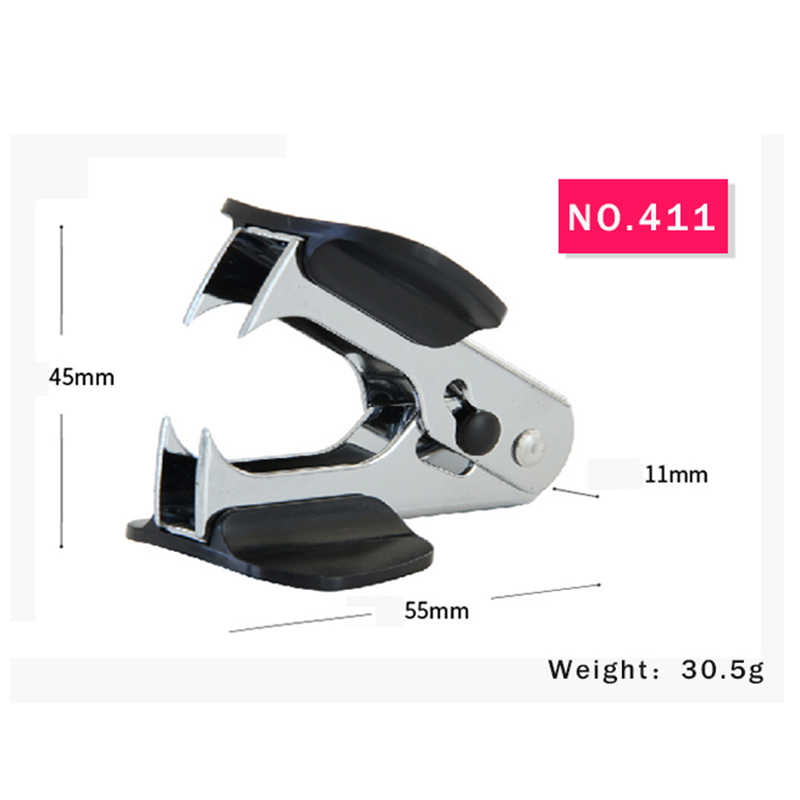 Staple Remover Office Tools Pull Out Extractor Metal Comfortable Magnetic Head