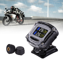 Motorcycle Waterproof TPMS M3-B Wireless Tire Pressure Monitoring System Charging Realtime Monitor Alarm Moto 2 Sensors