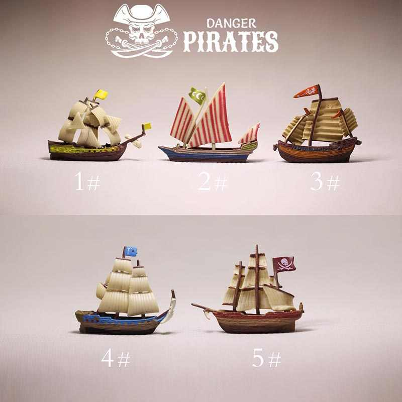 New~pirate ship/doll house//miniatures/cute/fairy garden gnome/moss terrarium decor/figurine/table decor/diy supplies/toy/model