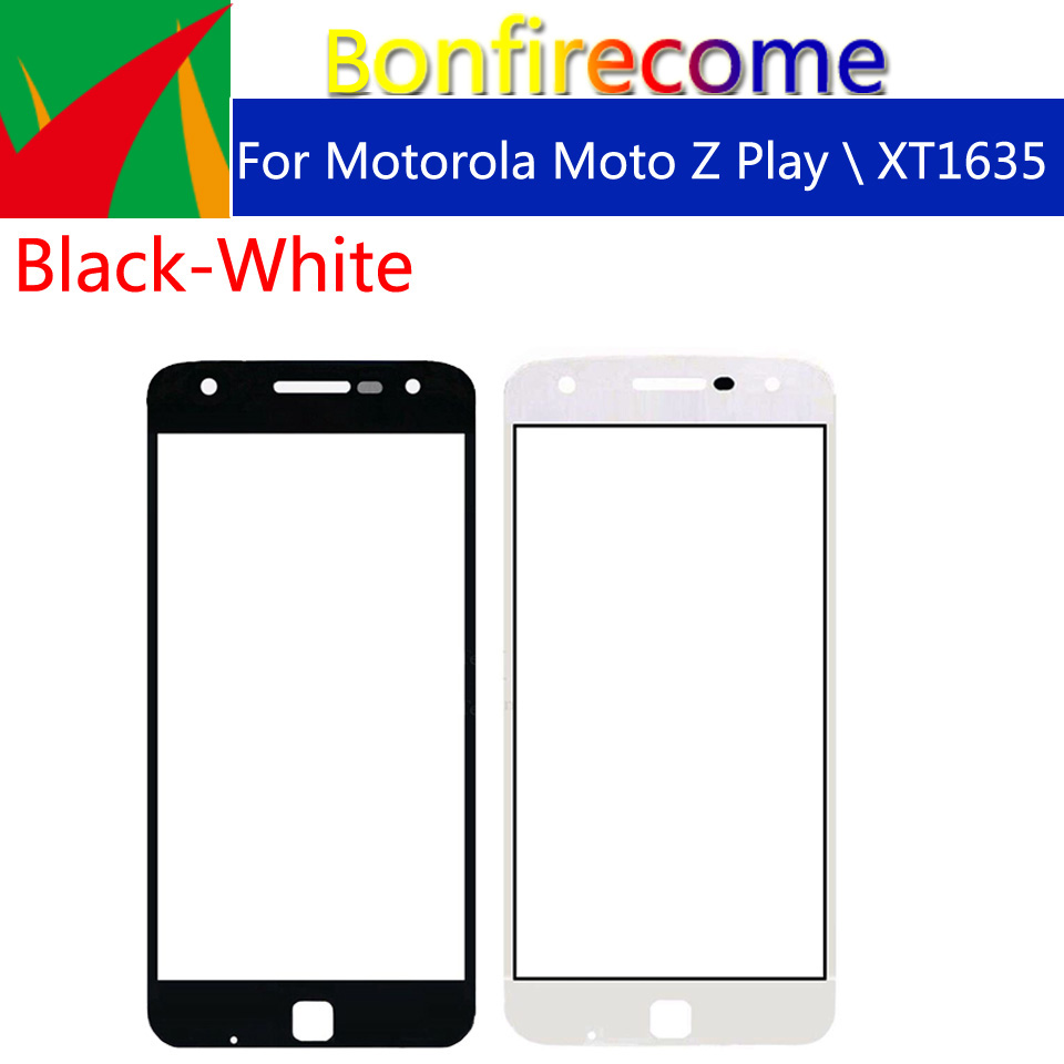 10pcs\lot Touchscreen For Motorola Moto Z Play\Moto Z Play Droid <font><b>XT1635</b></font> Touch <font><b>Screen</b></font> Front Panel Glass Lens LCD Outer Glass 5.5