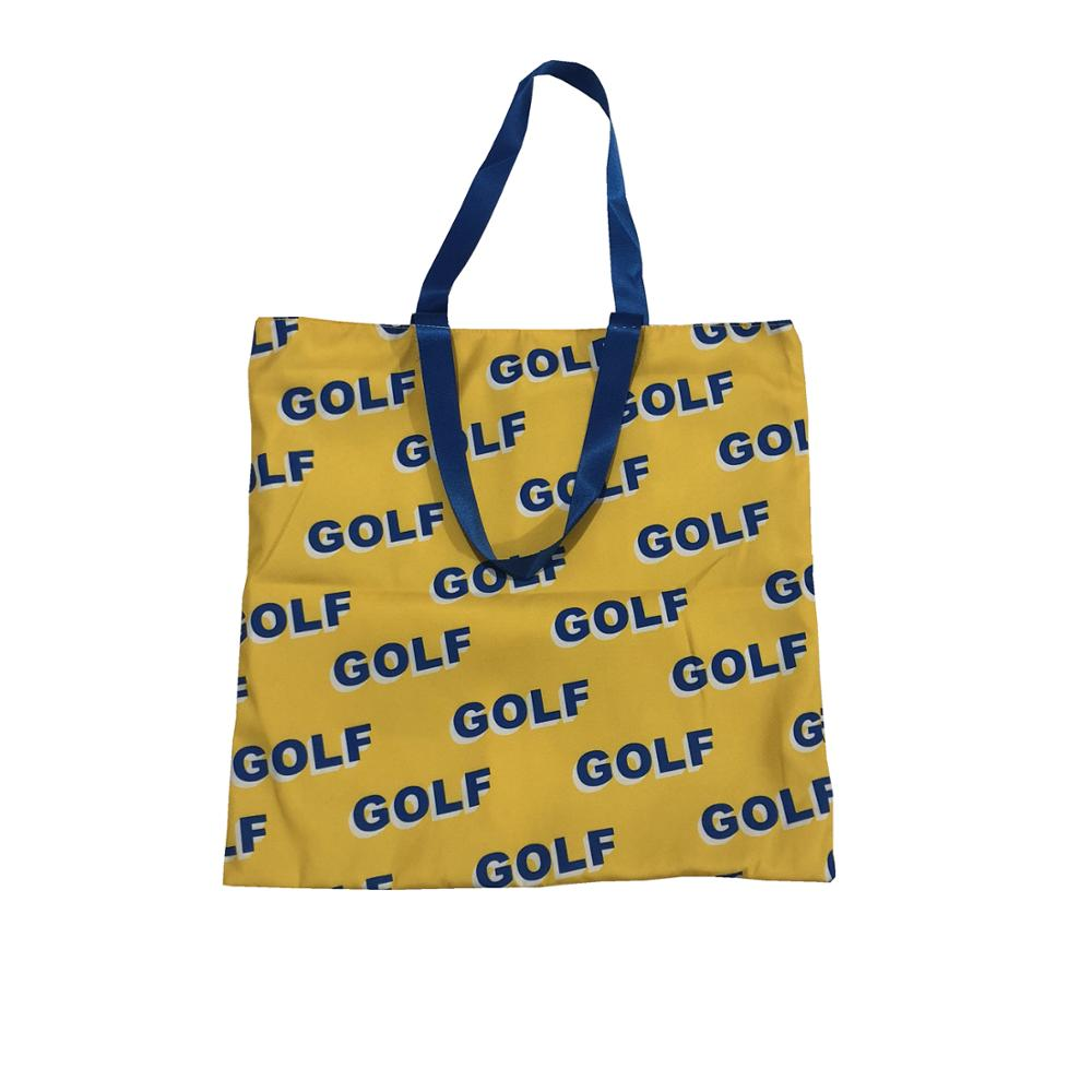 New Luxury Golf Flower Le Fleur Tyler The Creator Shoulder Special Purpose Shopping Bags Handbags Thicken Acrylic #N108