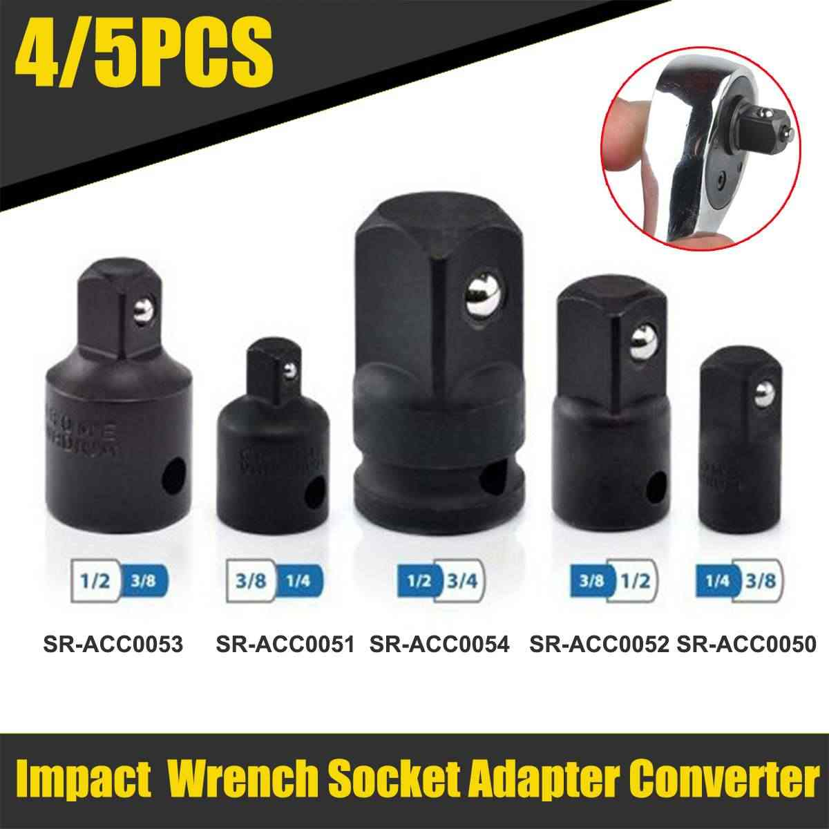 1//4,3//8 1//2 3//4 Inch Drive Socket Adapter Converter Reducer Air Impact Hot Sale