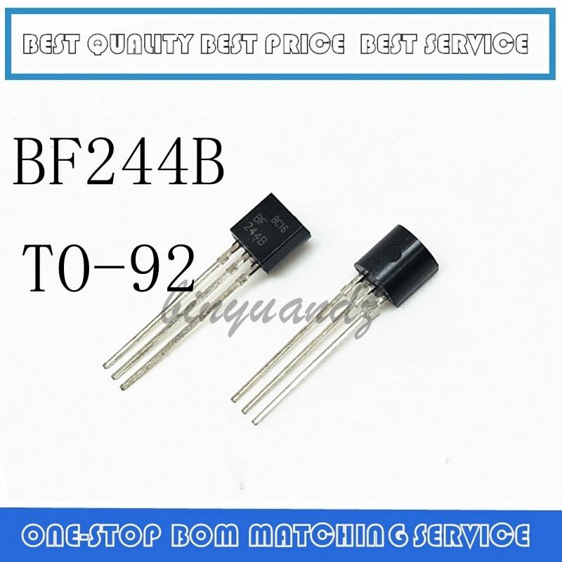 5PCS 10PCS  BF244B IC AMP RF N-CH 30V TO-92 244 BF244 TO-92-3 NEW