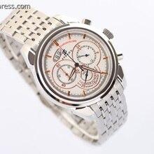 Знаменитые мужские часы OS, кварцевые мужские наручные часы с хронографом, чехол из стали и ремешок для часов, повседневные мужские часы A150