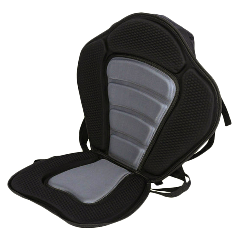 Adjustable Padded Canoe Kayak Seat Kayak Backrest Seat With Back Pack Rest Bag