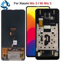 Super Amoled For Xiaomi Mi Mix 3 LCD Display Touch Screen Digitizer Assembly With Frame mi Mix3 Replacement MiMix3 MiMix 3 lcd