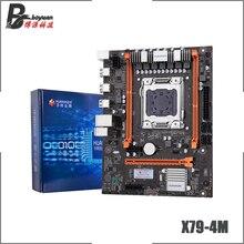 HUNNANZHI X79 4M X79 4M M ATX USB2.0 SATA2 PCI E SSD 32G Đôi Kênh hỗ trợ REG ECC Bộ nhớ và Xeon e5 CPU LGA 2011