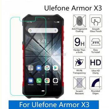 Перейти на Алиэкспресс и купить 5 шт. для Ulefone Armor X3 закаленное стекло 9H 2.5D Премиум Защитная пленка для экрана телефона для Ulefone Armor X3 стекло