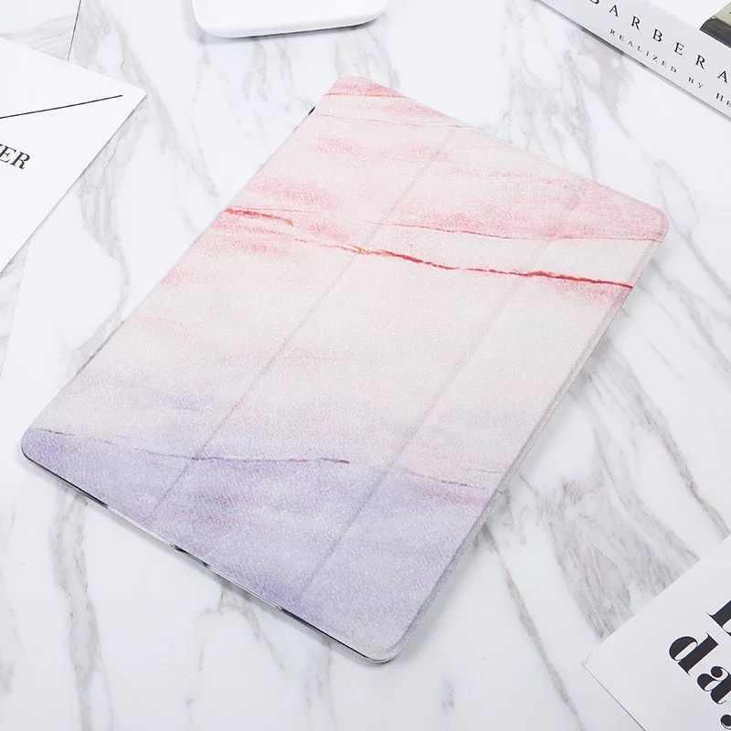 Funda trasera de silicona suave estilo mármol para iPad Air1 2 iPad Pro 10,5 Mini 5 Tablet para el nuevo iPad 9,7 iPad 2/3/4