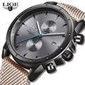 2019 новые мужские часы LIGE модный бренд Спортивные кварцевые мужские часы водонепроницаемые часы с хронографом военные часы Relogio Masculino