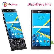Odblokowany oryginalny telefon komórkowy BlackBerry Priv 5.4 z systemem android 3GB RAM 32GB ROM 18MP odnowiony telefon komórkowy