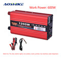 AOSHIKE 600W Modified Sine Wave Power Inverter DC 12V 24V 48V to AC 220V Voltage Transformer Converter Inversor 12 v 220 v NEW