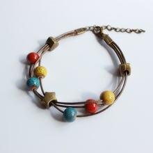 Женские керамические браслеты ручной работы «сделай сам» художественный