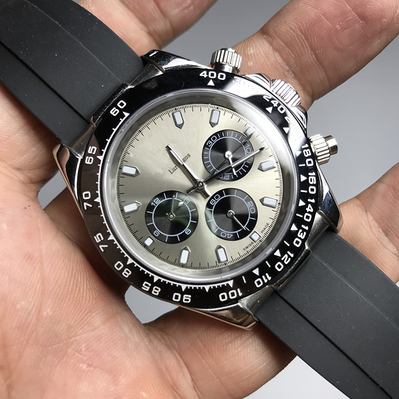 Black Top Watch Ceramic Bezel 41mm Automatic Movement Luxury Brand Mechanical Mens SS Watches AAA Desinger Wristwatches