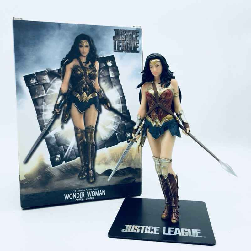 DC Comics Justice League Aquaman Wonder Woman Cyborg Figure Statue Collectibles